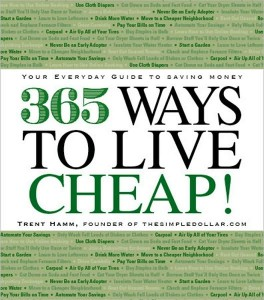 Ways to live cheap