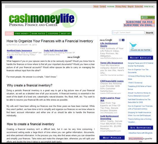 Cashmoneylife