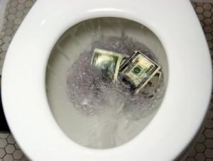 money, waste, saving